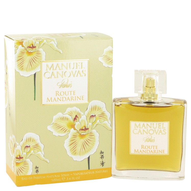 route mandarine by manuel canovas eau de parfum spray 100 ml c. Black Bedroom Furniture Sets. Home Design Ideas