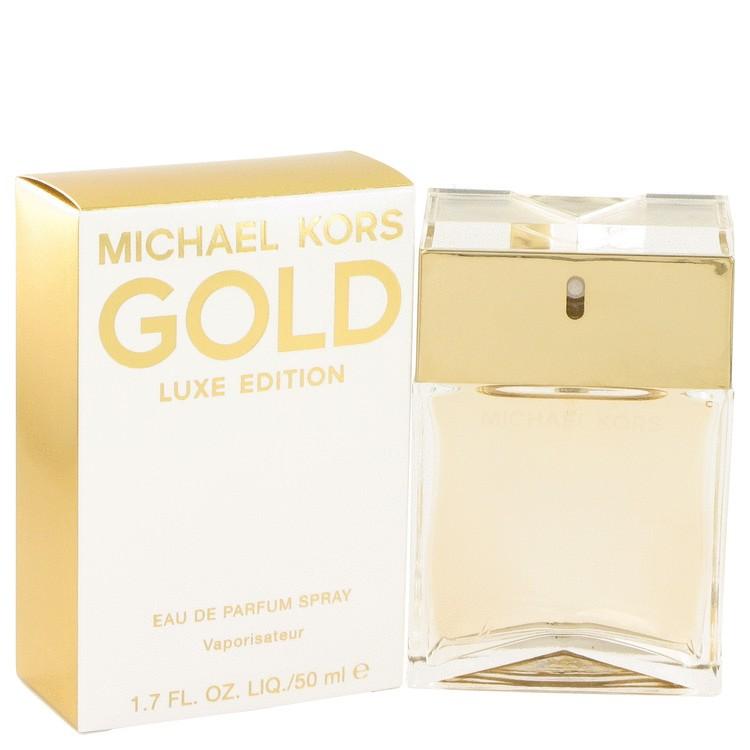 michael kors gold luxe by michael kors eau de parfum spray 50 ml kau. Black Bedroom Furniture Sets. Home Design Ideas