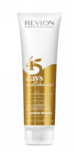 Revlonissimo 45 days 2in1 Shampoo & Conditioner Golden Blondes 275 ml