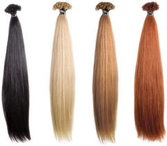 she hair extensions glatt echthaar 27 mittel goldblond 65. Black Bedroom Furniture Sets. Home Design Ideas