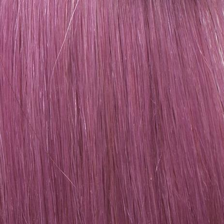 SHE Hair Extensions Fantasy, Echthaar Lila/Liliac 55/60 cm, 10 Ex