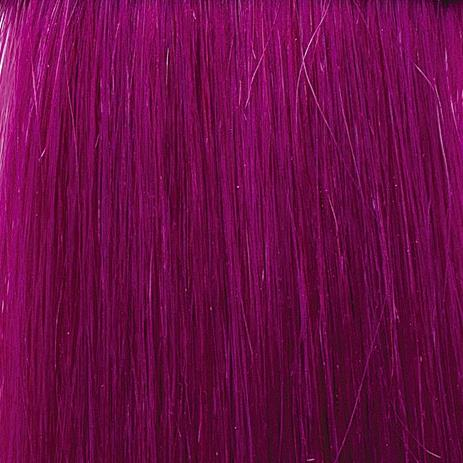 SHE Hair Extensions Fantasy, Echthaar Mittelviolett/Medium Violet 55/60 cm, 10 Ex