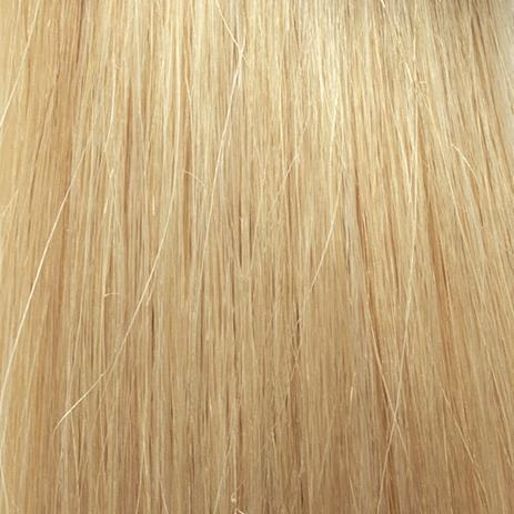 SHE Hair Extensions Tape In Echthaar 20 Platinblond 40/45 cm, 2 cm, 8 Ex