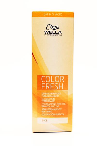 Wella Color Fresh Acid 9/3