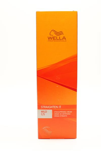 Wella Straigthen it Baseline Mild C/S