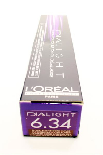 Loreal Dialight  6.34  dunkelblond goldkupfer 50 ml