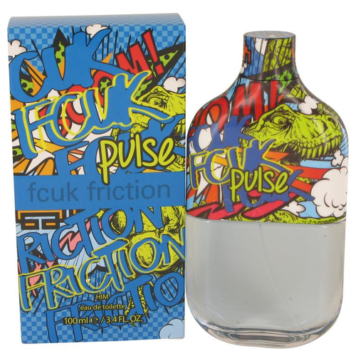 FCUK Friction Pulse by French Connection Eau de Toilette Spray 100 ml