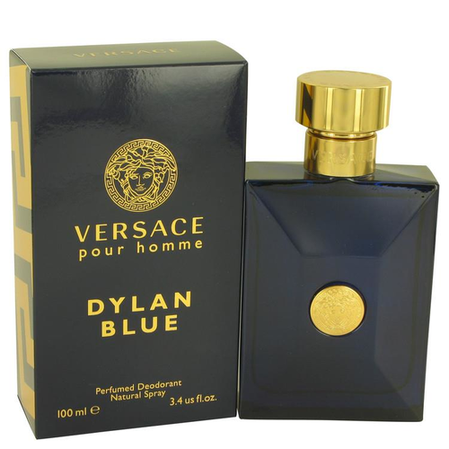 Versace Pour Homme Dylan Blue by Versace Deodorant Spray 100 ml