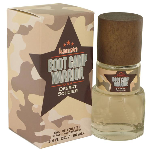 Kanon Boot Camp Warrior Desert Soldier by Kanon Eau de Toilette Spray 100 ml