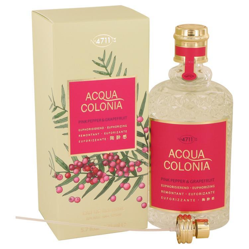 4711 Acqua Colonia Pink Pepper & Grapefruit by Maurer & Wirtz Eau de Cologne Spray 169 ml