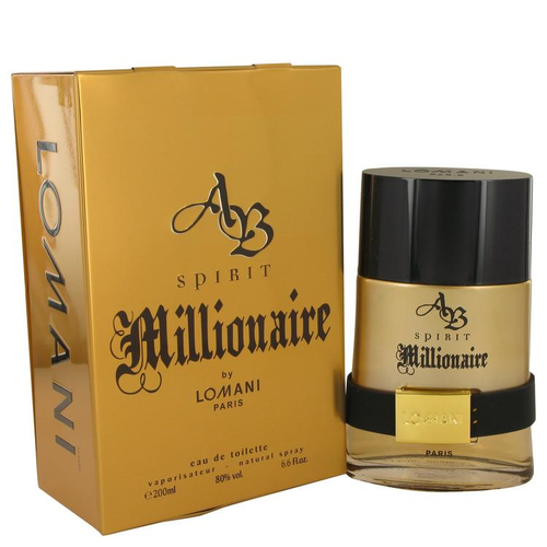 Spirit Millionaire by Lomani Eau de Toilette Spray 200 ml