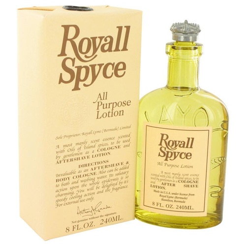 ROYALL SPYCE by Royall Fragrances All Purpose Lotion / Cologne 240 ml