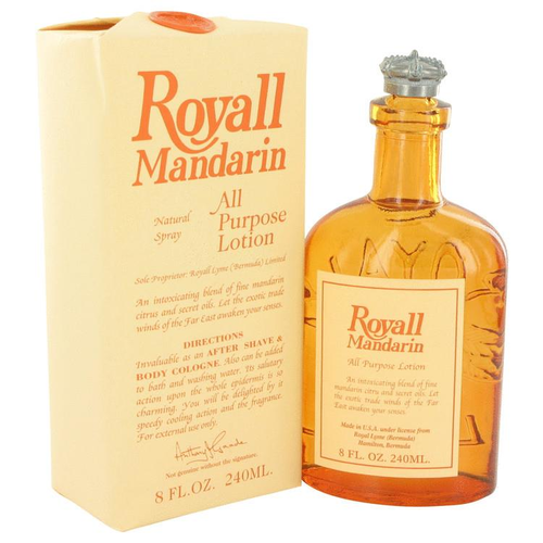Royall Mandarin by Royall Fragrances All Purpose Lotion / Cologne 240 ml