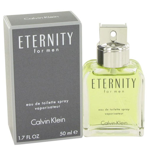 ETERNITY by Calvin Klein Eau de Toilette Spray 50 ml